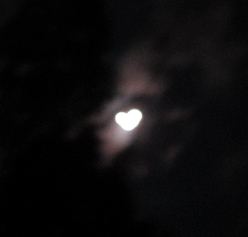 Heart-Shaped Moon