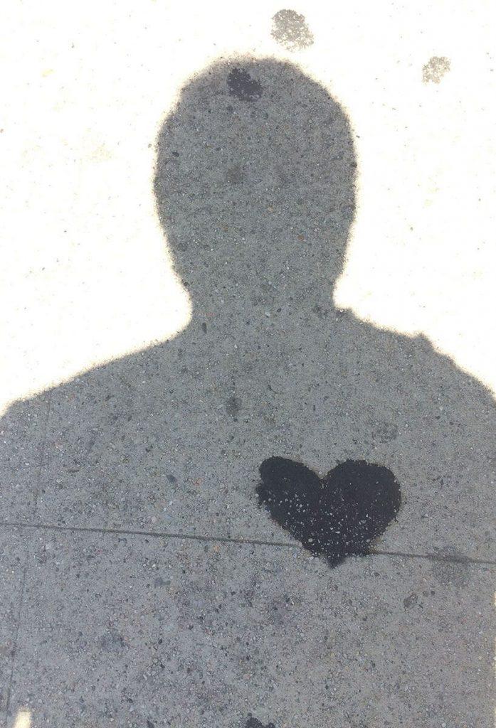Heart on Sidewalk