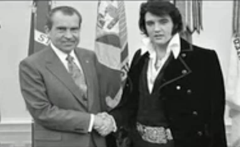 President Nixon and Elvis