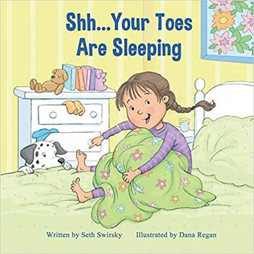 Shh Your Toes Are Sleeping